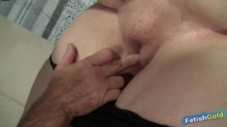 Huge Ass BBW Intense Fucked On The Casting Couch By Older Guy