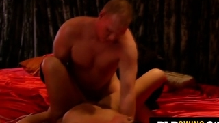 Riding a Cock In Front Of Her Husband.