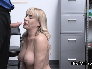 Stealing MILF Busted And Punished By Horny Guard Video XXX Porn Tube Video Image