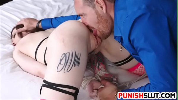 Tattooed Slut Chloe Carter Punished For Being Wasteful Video XXX Porn Tube Video Image